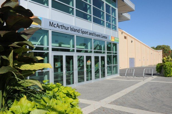 Kamloops - McArthur Island Sports Centre
