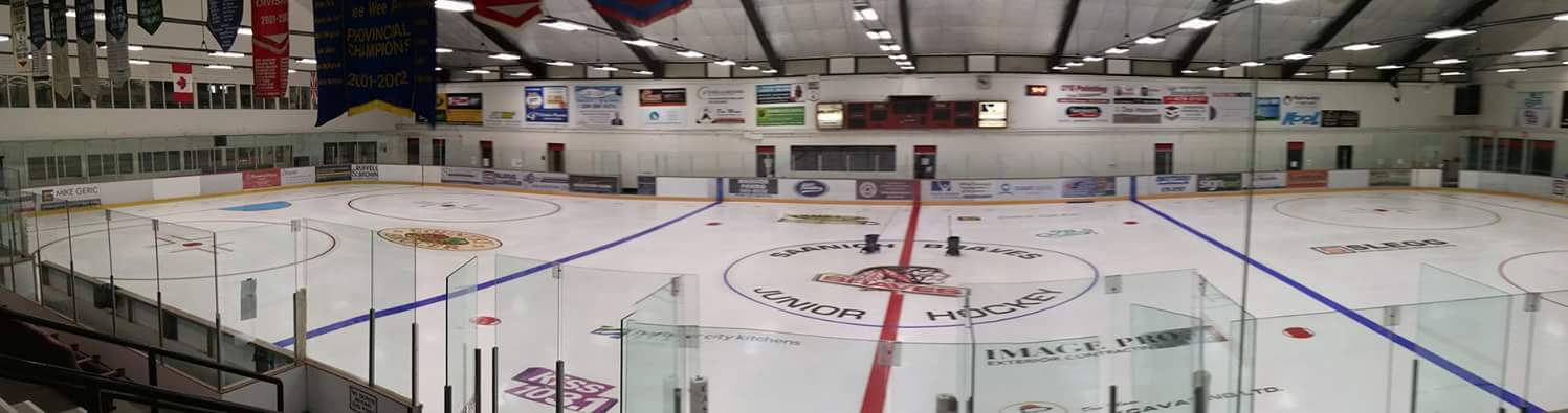 The Gold Rink at the Pearkes Arena