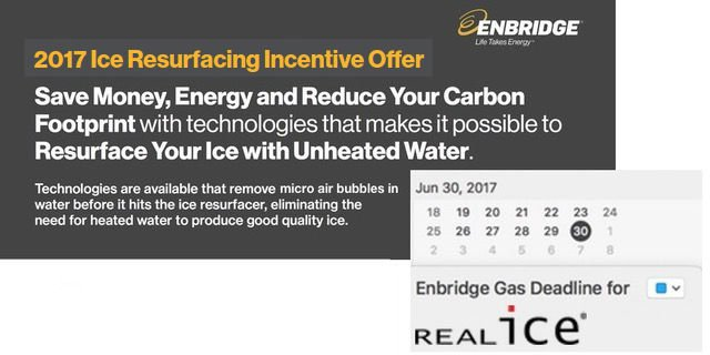 Enbridge Gas - Ice Resurfacing Incentive Offer
